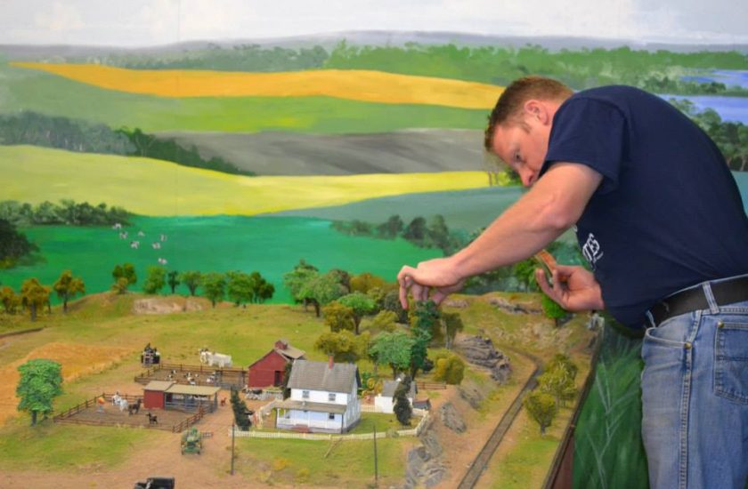 HO Scale Model Railroad Layout gets a tune up!