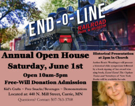 OPEN HOUSE – JUNE 1