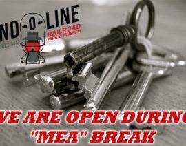 OPEN DURING MEA BREAK