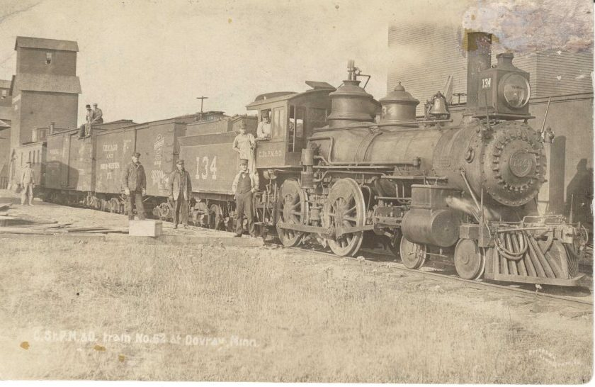 History of Railroad in Murray County